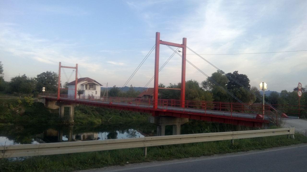 Rekonstrukcija mosta na Žegeru u MZ Čarakovo